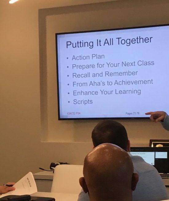 Joel Nelson Teaching Real Estate