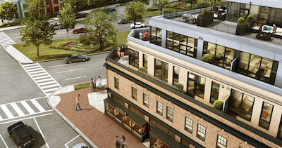 Drawing of Frager's Redevelopment on Penn Ave SE.