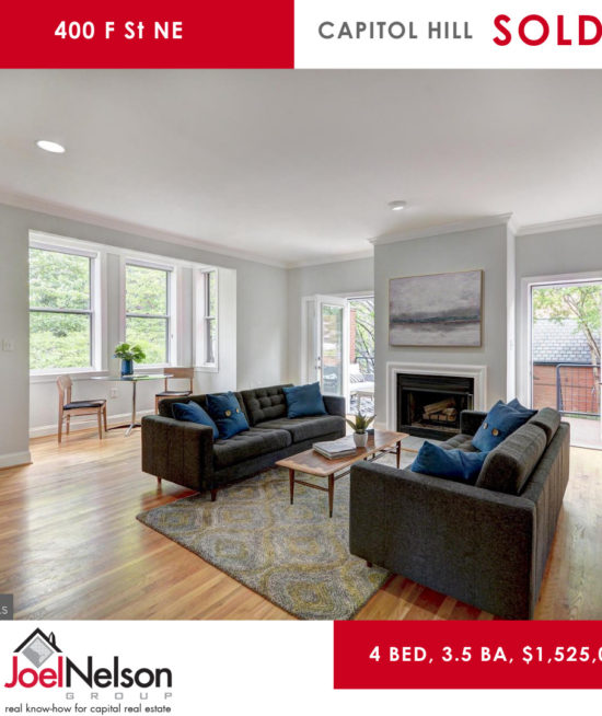JUNE Sold Listing on Capitol HIl