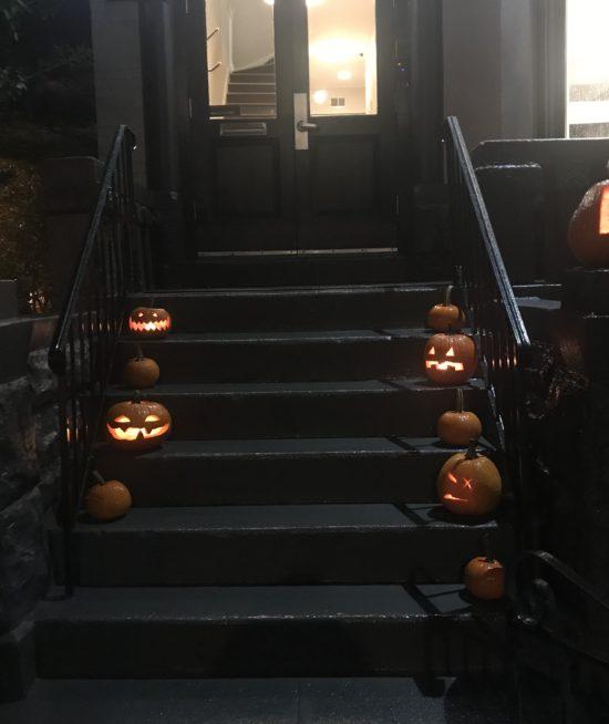 Pumpkins on Porches