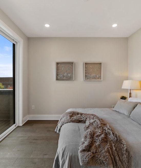 UNIT 4: Bedroom + Deck!